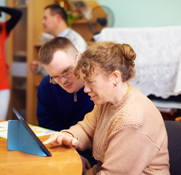 Volunteer with the Blue Ridge Independent Living Center